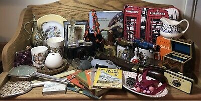 Large Assorted Antique/ Vintage/ Collectible Job Lot 40+ Items No Reserve