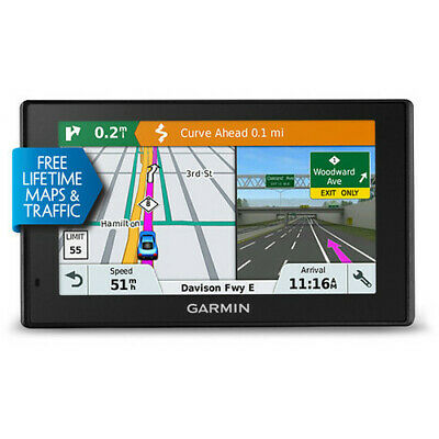 "Garmin Drivesmart 51 LMT-S 5"" GPS Nav w/ Lifetime Maps & Traffic (Next-Gen Nuvi)"