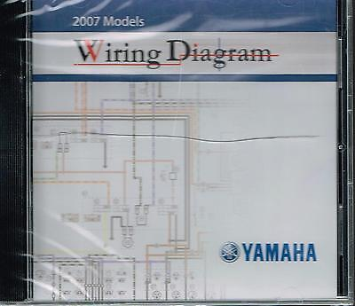 YAMAHA MOTORCYCLE WIRING Diagram Collection on CD 2007 ... on