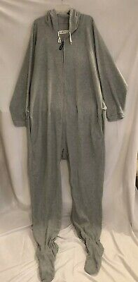 5139358a2b77 FOREVER LAZY FLEECE Footed Adult JumpSuit with Pockets
