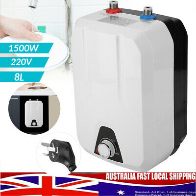 1500W 8L Portable Instant Electric Hot Water Heater System Under Sink Tap Faucet