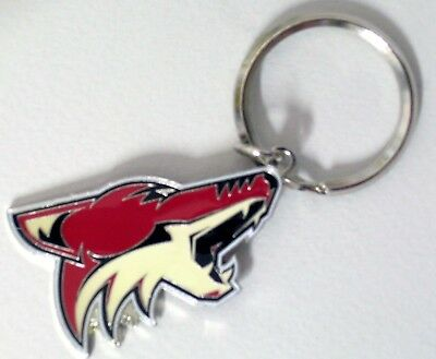 Arizona Coyotes - Nhl Licensed Logo Keychain - Top Quality Metal - New!
