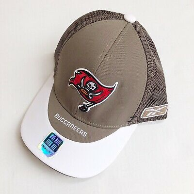 c5b45201a Tampa Bay Buccaneers Reebok Flex Fit Fitted Hat NFL SIDELINE Vintage One  Size