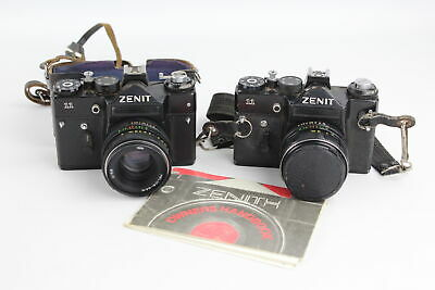 2 x ZENIT 11 Film Cameras WORKING