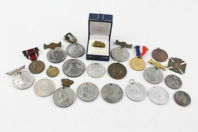 22 x Vintage ROYALTY COMMEMORATIVE MEDALS / MEDALLIONS Inc. Coronation, Jubilee