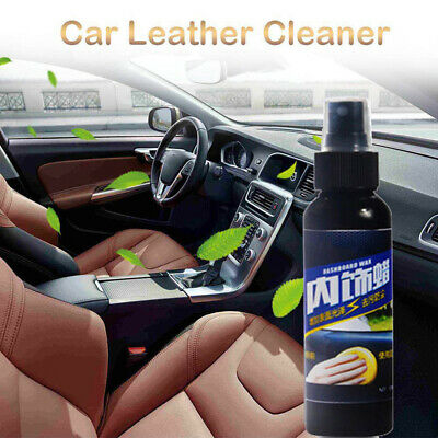 Car Auto Interior Dashboard Leather Seat Glossing Tools Polish Wax Cleaner Spray