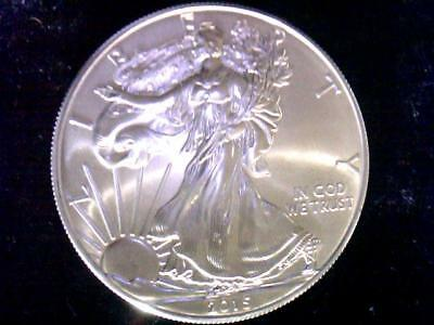 2015 American Silver Eagle Bu** 1 Troy Oz. .999 Pure Silver Gem Us Mint Ase Usa