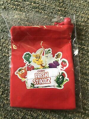 New Coles Fresh Stikeez Pouch