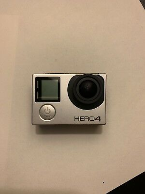 GoPro HERO 4 Action Camera w Touch Screen - 4K HD 1080p - Silver Edition