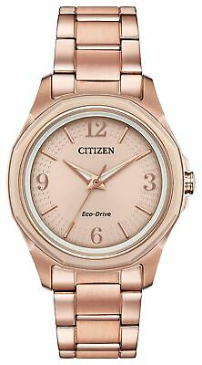 Citizen Eco Drive Women's Ar - Action Required Pink Gold Tone Watch FE7053-51X