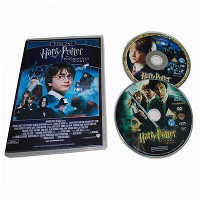 Harry Potter 1-8 Movie DVD Films Box Set Complete 1-8 Film Collection Disc Box