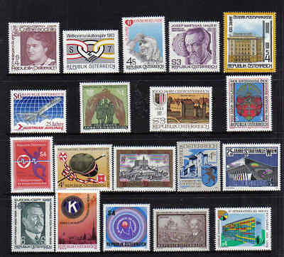 NEW STAMPS   from  AUSTRIA    YEAR 1983  part 1  (MNH)  lot 908