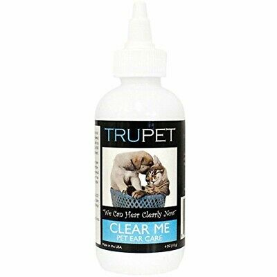 Pet Clear Ear Fungus Bacteria Yeast Mites Infection Dog Drops Medicine Solution