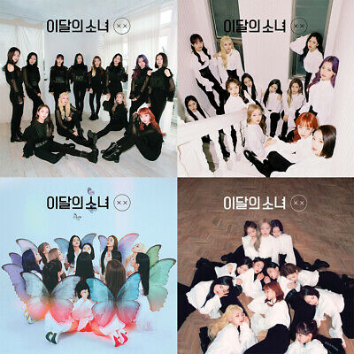 MONTHLY GIRL LOONA [x x] Repackage Album NORMAL 2 Ver SET+1POSTER+2F.Buch+2Karte