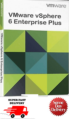 VMWARE ESXI 5.1/6/6.7 vSphere Standard, Enterprise/Plus Keys Unlimited CPUs