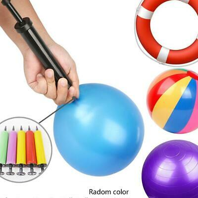Mini Portable Handheld Balloon Inflator Air Pump Soccer Needle Ball For Party bi