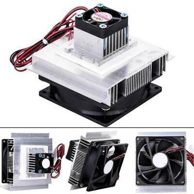 1pc 12V 60W DIY Thermoelectric Peltier Refrigeration Cooling System Cooler Stock