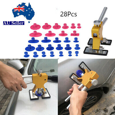 Car Paintless Dent Repair Tools Dint Hail Damage Remover Puller Lifter Kit P4L3
