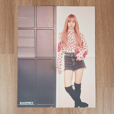 [Poster Only] Lisa Official Folded Poster BlackPink 2019 Welcoming Collection