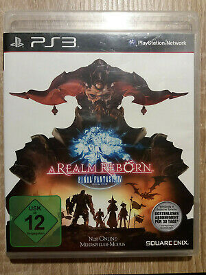 Final Fantasy XIV: A Realm Reborn (Sony PlayStation 3, Ps3) TOP Zustand *****