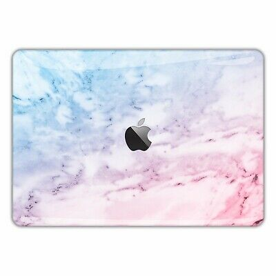 MacBook Skin Decal Sticker Air Vinyl Pro Retina Watercolor rainbow marble FSM323