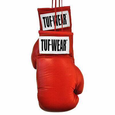 Tuf Wear Autograph Red Boxing Gloves