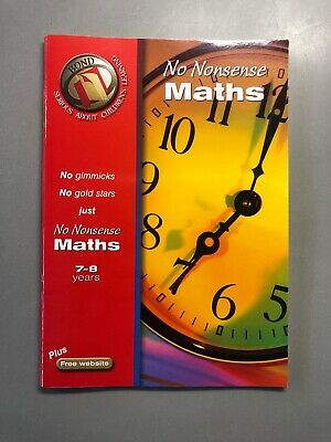 Bond No Nonsense Maths 7-8 years (Bond Assessment ... by Lindsay, Sarah Pamphlet
