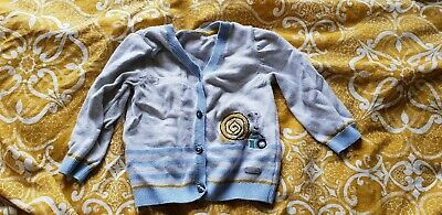 Lovely Boys Cardigan Autograph Marks And Spencer 9-12 Months