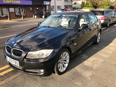 BMW 320i SE BUSINESS PACK 2009(59) BEAUTIFUL SPEC, COLOUR BLACK /WHITE LEATHER