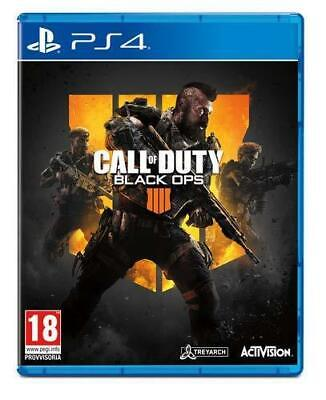 Call of Duty Black Ops IIII 4 Ps4 Playstation 4 Activision ITALIA DVD NUOVO