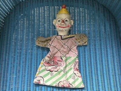 Vintage Punch and Judy Hand Puppet