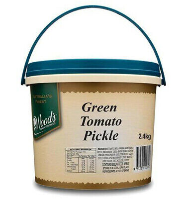 Wood's Green Tomato Pickle 2.4kg