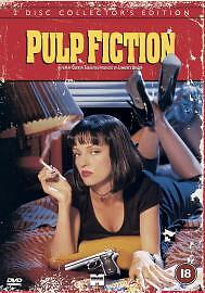 Pulp Fiction (DVD, 2002, 2-Disc Set) Brand new and sealed