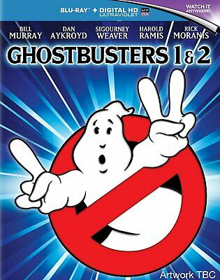 Ghostbusters/Ghostbusters 2 (with UltraViolet Copy) [Blu-ray] NEW & SEALED