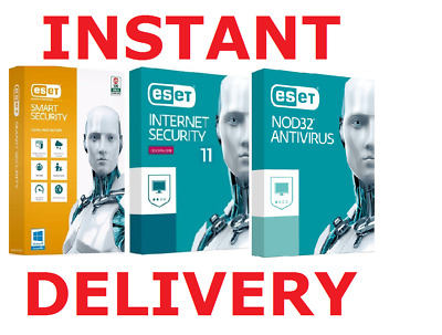 Instant Delivery - Eset Internet-Smart Security-Nod32 Antivirus