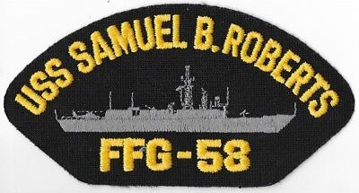 a80f23bc883 USS SAMUEL B ROBERTS FFG-58 Guided Missile Frigate~Navy military ...