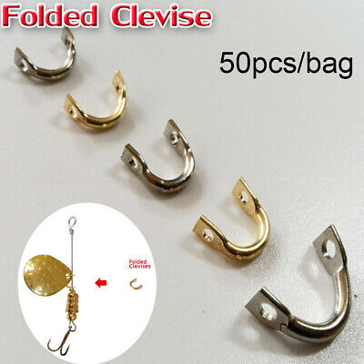 Spinner Easy-Spin Clevises Easy Spin Brass Fishing Lures Accessories