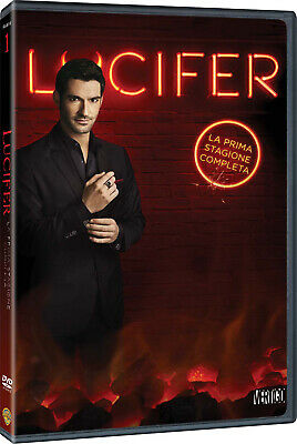 |5051891154094| Lucifer - Stagione 01 (3 Dvd) - Lucifer [DVD] Edición Italiana N