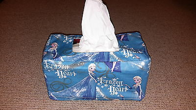 Elsa Fabric tissue box cover, (3 different colors and prints)