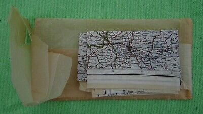 WW2 WWII ZONES of Europe, Paratrooper/Pilot/Aircrew/SOE Escape Kit Silk Map