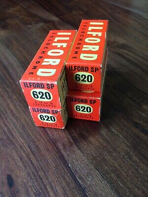 Ilford Sp 620 Films Selochrome Unopened