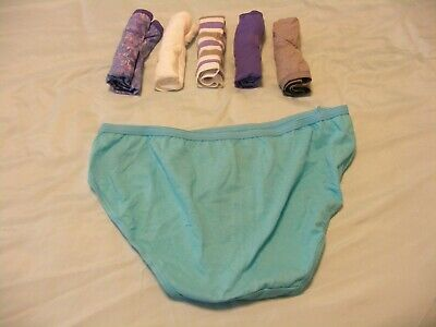 27bc96aead74e 6 PACK HANES Women Assorted Sporty Hipster Underwear Panty 100 ...