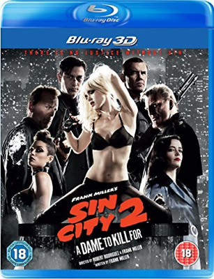 Sin City 2 3D Bd Blu-Ray NEUF