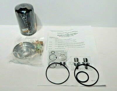 Brand New Spin On Oil Filter Conversion Kit With Wix Filter Triumph TR3 TR4 TR4A