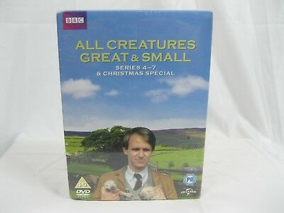 BBC All Creatures Great & Small Series 4 - 7 & Christmas Special DVD