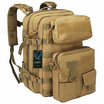 40L Outdoor Military Rucksacks Tactical Backpack 3 Day Assault Molle Bag Hiking