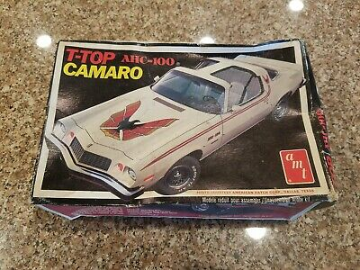 AMT 1975/77 T-Top Camaro AHC-100 Model in Box - Sealed inside packaging