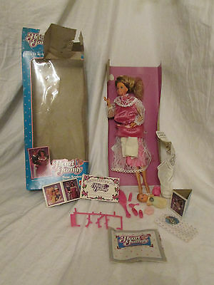 "Damaged/Opened Box The Heart Family ""New Arrival"" Mom & Baby Barbie Doll 2412"