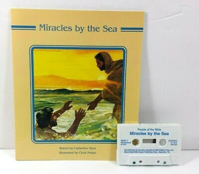 Bible Story Read Along with Cassette Miracles by the Sea Illustrated 1988