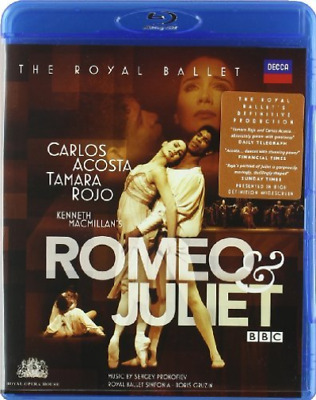 Romeo and Juliet: The Royal Ballet (Gruzin) Blu-Ray NUEVO